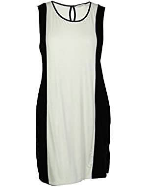 Calvin Klein Women's Colorblocked Mesh Dress