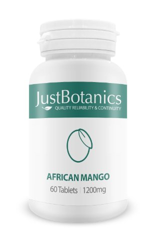JustBotanics 1200mg African Mango Tablets