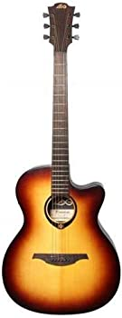 Lag Tramontane 70 Auditorium Cutaway Solid Sitka Spruce Electro Guitar