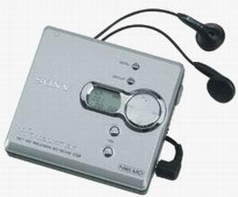 peed Net MD Walkman Recorder (Silver) (Sony Net)