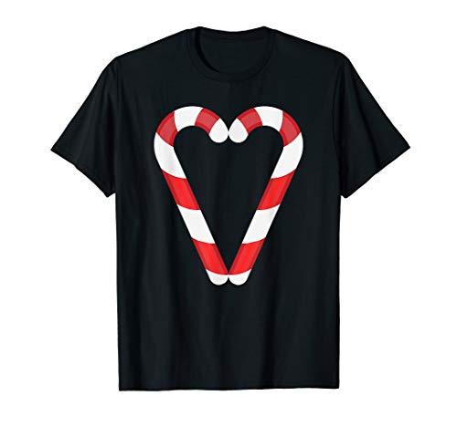 Fun Candy Christmas Heart Cute XMAS Holiday Pajama Shirt