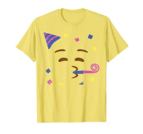 Party Hat Emoji (Party Hat Blowing Horn Partying Emojis Halloween Costume)