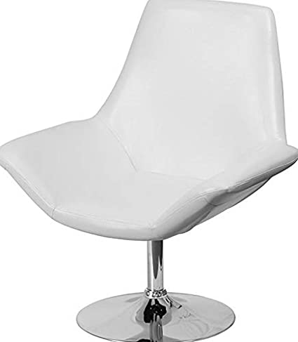 Remarkable Amazon Com Campton Contemporary Design White Leather Cjindustries Chair Design For Home Cjindustriesco