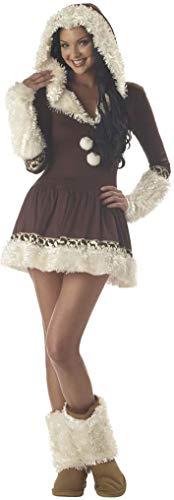 California Costumes Women's Eskimo Kisses Costume,Brown/White,Small ()