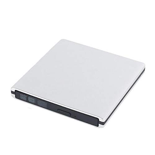 WCL&YD USB3.0 External Optical Drive Recorder Aluminum Alloy DVD Burner Silent Loading DVD Player for PC Laptop Notebook Ultrabook Computer Apple MacBook Pro ()