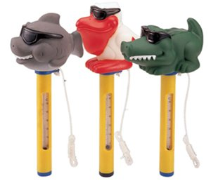 Ocean Blue Water Products 150055 Floating Animal Thermometer - 3 Styles by Ocean Blue Water Products