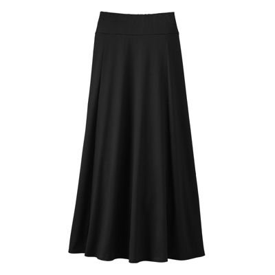 d672763377d Amazon.com  Indispensable Long Travel Skirt Black L  Everything Else