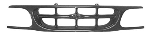 Grille Grill Black Paintable for 95-01 Ford Explorer -  AM Autoparts, AM-41311296