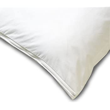 Allersoft Cotton Dust Mite and Allergy Control Pillow Protector, 16 by 20-Inch