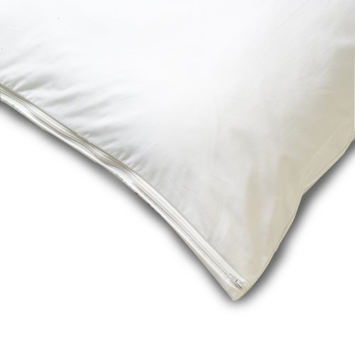Allersoft Cotton Body Dust Mite and Allergy Control Pillow Protector, 21 by 60-Inch