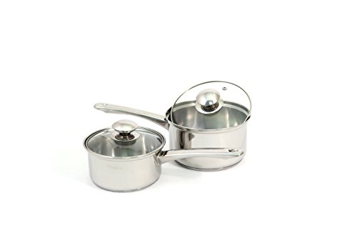 7-Piece Stainless Steel Cookware Set with Encapsulated Base