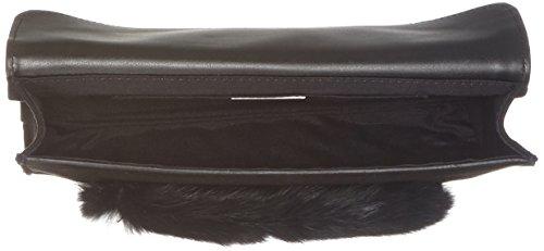 Tosca Blu Powder - Borse a secchiello Donna, Schwarz (Black), 5x16x24 cm (B x H T)