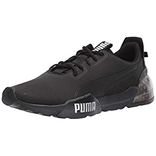 PUMA Men's Cell Phase Sneaker, Black-Castlerock, 13 M US