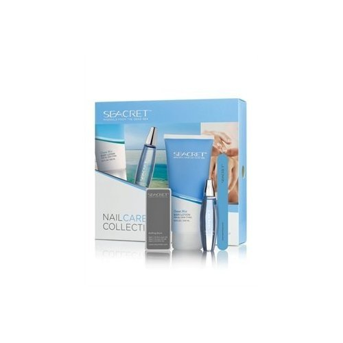 Buy Seacret Nail Care Collection Kit Includes Body Lotion(Pomegranate Fragrance), Cuticle Oil, Buffing Block, and Nail File Online at Low Prices in India ...