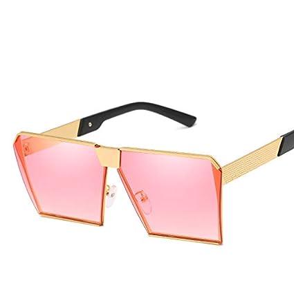 ZJWZ Gafas De Sol Tendencia Gafas De Sol Retro Big Box Gafas ...