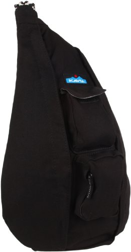 KAVU Rope Bag, Black