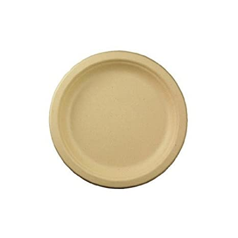 World Centric\u0027s 100% Biodegradable 100% Compostable Bagasse 7\u0026quot; Plates (Package of  sc 1 st  Amazon.com & Amazon.com: World Centric\u0027s 100% Biodegradable 100% Compostable ...