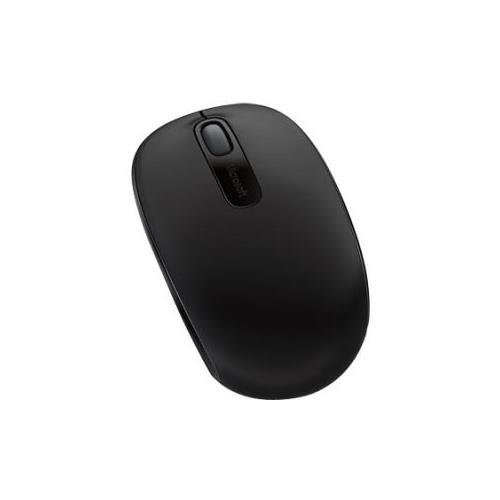 Price comparison product image Microsoft 7MM-00001 Wireless Mobile Mouse 1850,  Optical - Wireless - Radio Frequency - Black - USB 2.0 - 1000 dpi - Computer - Scroll Wheel - 3 Button(s) - Symmetrical