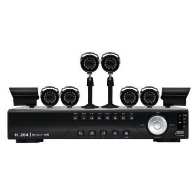 Vonnic DK8-C1808CM-HDD DVR Kit with Camera (Black)