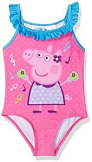 Amazon.com: Peppa Pig - Bañador para niña, 2T: Clothing