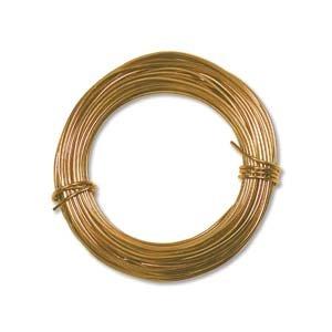 Aluminum Craft Wire 18 Gauge 39 Feet GOLD 42621 by Minor Details
