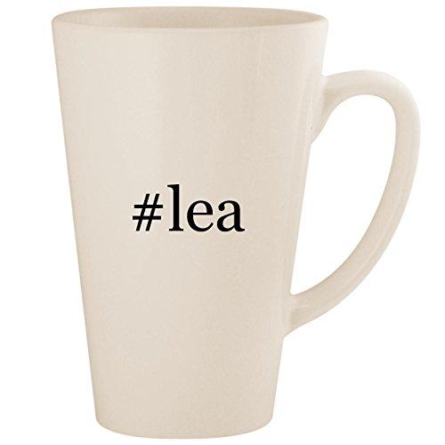 Price comparison product image #lea - White Hashtag 17oz Ceramic Latte Mug Cup