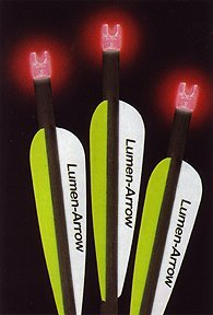 Lumenok Lumen-Arrow 20-Inch Carbon Bolts with Flat Bolt End (3-Pack)