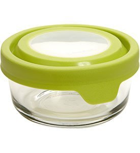 Anchor Hocking TrueSeal Glass Storage Container - Round - 1 cup
