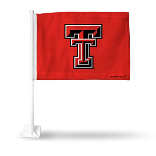 Texas Tech Red Raiders NCAA 11X14 Window Mount 2-Sided Car Flag