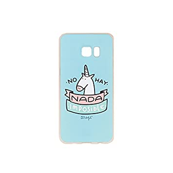 Mr. Wonderful Carcasa Samsung Galaxy Edge Plus: Amazon.es ...