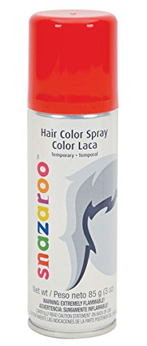 Snazaroo Hair Color Spray, Red
