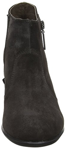 Molly Chelsea Gris Mujer Botas Velour 3 Charcoal Stonefly para TZqd11