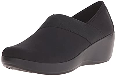 Crocs Women's Busy Day Stretch Asymmetrical Wedge