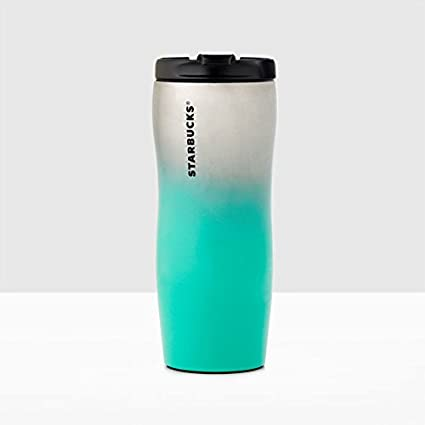 474d4ec9416 Amazon.com | Starbucks Stainless Steel Lucy Classic Teal Ombré ...
