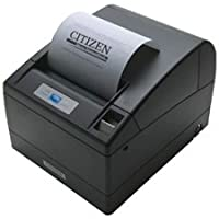 Citizen America CT-S4000UBU-BK CT-S4000 Series POS Thermal Printer, 112 mm Paper, 150 mm/Sec Print Speed, 69 Columns, USB Connection, Black