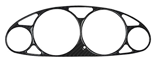 Acura Integra Jdm Carbon Fiber (REAL Carbon Fiber Instrument Gauge Cluster Bezel Overlay fit for 1994-2001 Acura Integra)