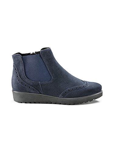 Avena Damen Federleicht-Chelsea-Boots Blau Gr. 41