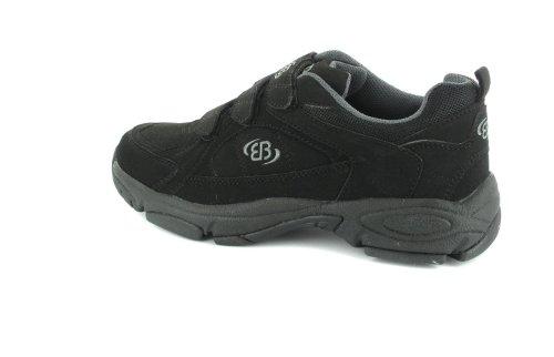 Brütting - Zapatillas de running para hombre Negro negro