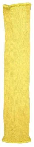 (MCR Safety 9378KC Kevlar Cotton Regular Weight Economy Sleeve, Yellow, 18-Inch)
