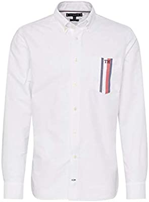 Tommy Hilfiger Mw0mw10962 Stripe Pocket Bright White