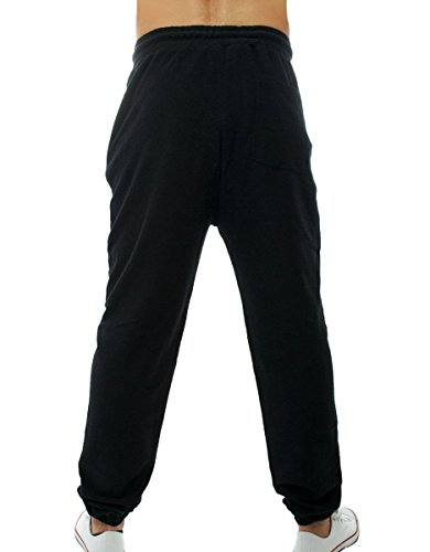 !Solid Pants- Santo uomo, tuta, nero, Small EU
