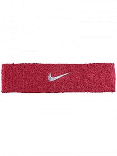 Nike Swoosh Headband (Red Crush/Wolf Grey) by Nike (Image #1)