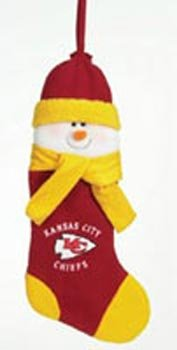 (Kansas City Chiefs Official NFL Christmas Stocking by SC Sports)