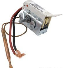 Invensys Spa Thermostat 1/4 - 6 w/ Short Leads 275-2568-00 by Invensys Appliance Controls