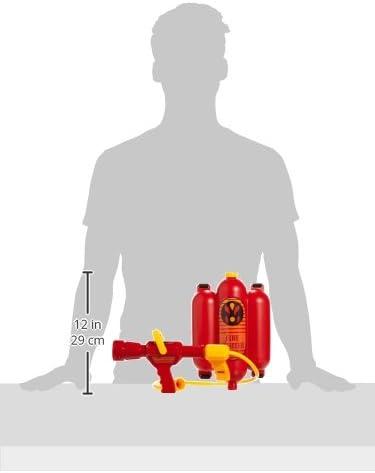 Theo Klein 8932 Fire Fighter Henry Feuerwehrspritze I Mit Wasserspritzfunktion Und 2 Liter Tank I Tragbar Wie Ein Rucksack I Maße 31 Cm X 21 Cm X 9 Cm I Spielzeug Für Kinder Ab 3 Jahren Spielzeug