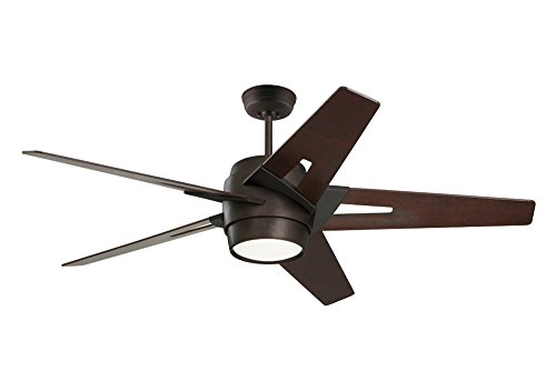 - Emerson Ceiling Fans CF550DMORB Luxe Eco Modern Ceiling Fan With Light And Wall Control, 54-Inch Blades, Oil Rubbed Bronze Finish