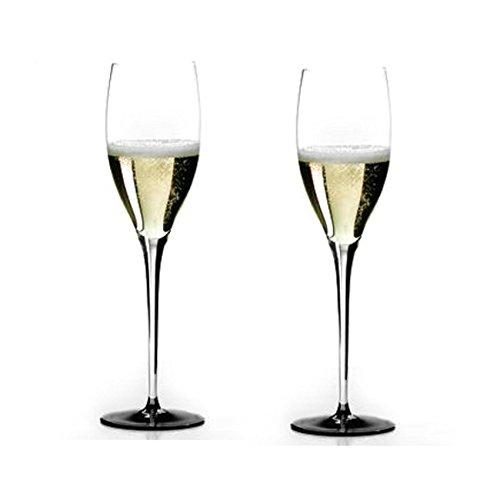 (Riedel Sommeliers Black Tie Leaded Crystal Vintage Champagne Glass, Set of 2)