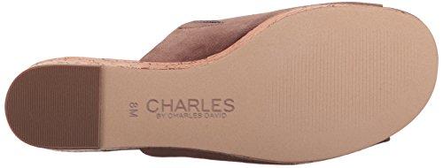 Charles Di Charles David Womens Crisp Wedge Sandal Taupe