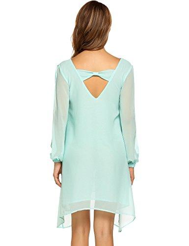 救出ほかに剃るZeagoo DRESS レディース US サイズ: S カラー: ブルー
