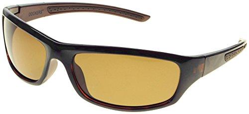 Dockers Mens Polarized Sport Sunglasses One Size - Docker Sunglasses
